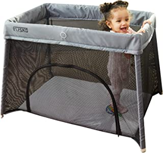portable crib for tall toddlers