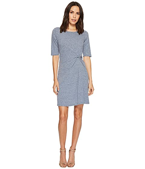 Elbow Sleeve doc Dress Twist Jersey Mod o Marbled Front x1BIIw