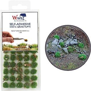 War World Scenics 4 mm skogsgolv självhäftande statiskt gräsklippare x 100 – modellbana modellbyggnad bordsskiva mark Diorama