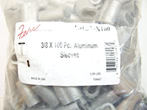 Aluminum Swage Sleeves for 3/8