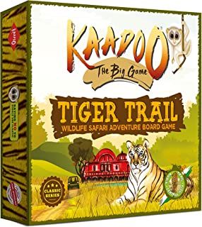 KAADOO - The Classic BIG GAME to Discover Tigers of Central India - Tiger Trail - Knowledge-building Educational Adventure...