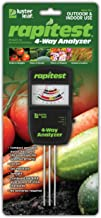 Luster Leaf 1880 Rapitest Tester Electronic 4-Way Analyzer, Soil