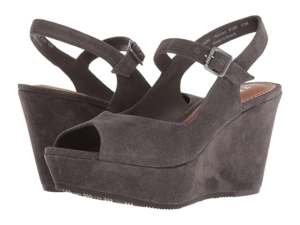 Trask Tessa (Grey Oiled Suede) Women