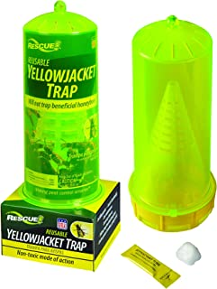 RESCUE Non-Toxic Reusable Trap for Yellowjackets