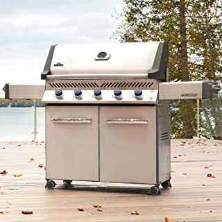 Napoleon P665NSS Prestige 665, Stainless Steel Natural Gas Grill