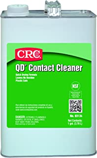 CRC QD Contact Cleaner, 1 Gallon Bottle, Clear