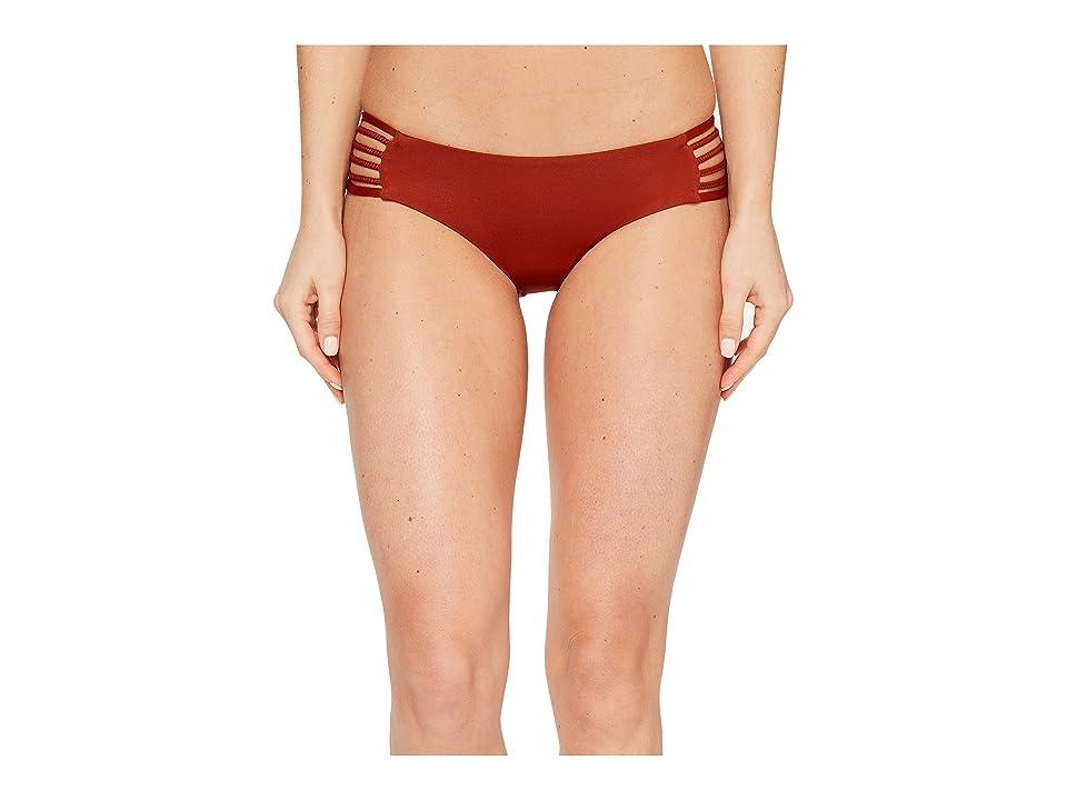 Vitamin A Swimwear Jaydah Braid Bottom Full (Copper Ecolux) Women