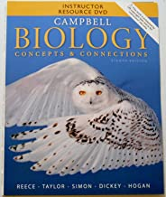 Campbell Biology Concepts and Connections 8th Instructor Resource DVD and Test Bank CD