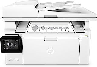 HP M130fw LaserJet Pro - Impresora láser multifunción (256 MB, fax, WiFi, escáner AAD, 23 ppm, hasta 10000 páginas), color blanco