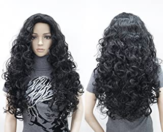 curly cosplay wig