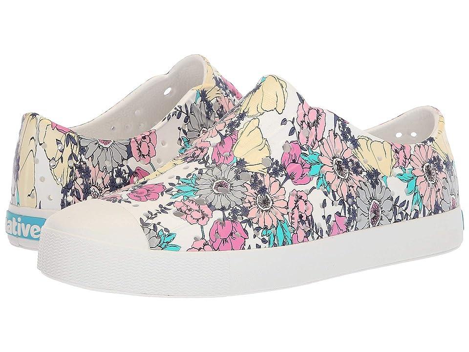 Native Shoes Jefferson (Shell White/Shell White/Jardin) Shoes