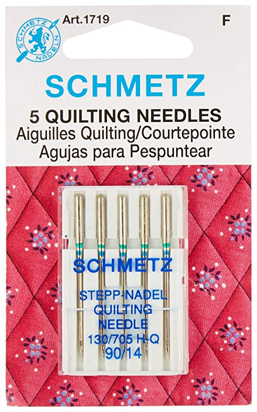 Euro-Notions 71834 Quilt Machine Needles-Size 14/90 5/Pkg