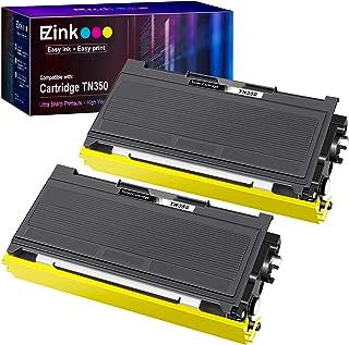 خرطوشة حبر EZ Ink (TM) متوافقة مع طابعة Brother TN350 TN-350 TN 350 للاستخدام مع تقنية إنتليفاكس 2820 Intellifax 2920 HL-2...