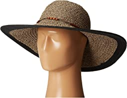 San Diego Hat Company - UBL6472 Ultrabraid Sunbrim w/ Wooden Beaded Trim
