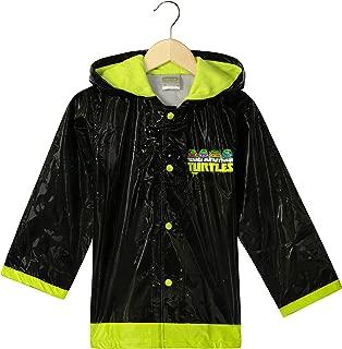 Little Boys' Teenage Mutant Ninja Turtles TMNT Waterproof Outwear Hooded Rain Coat - Toddler