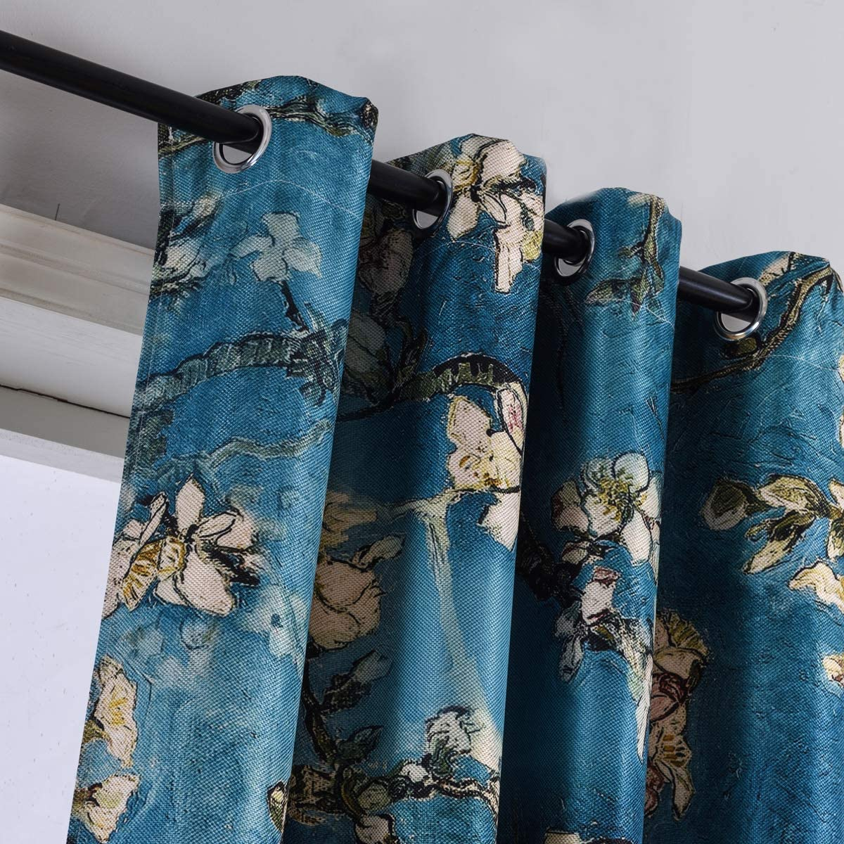 Taisier Home Grommet Chinese Selling rankings Style Curtain Plum Artistic Blossom Ranking TOP10