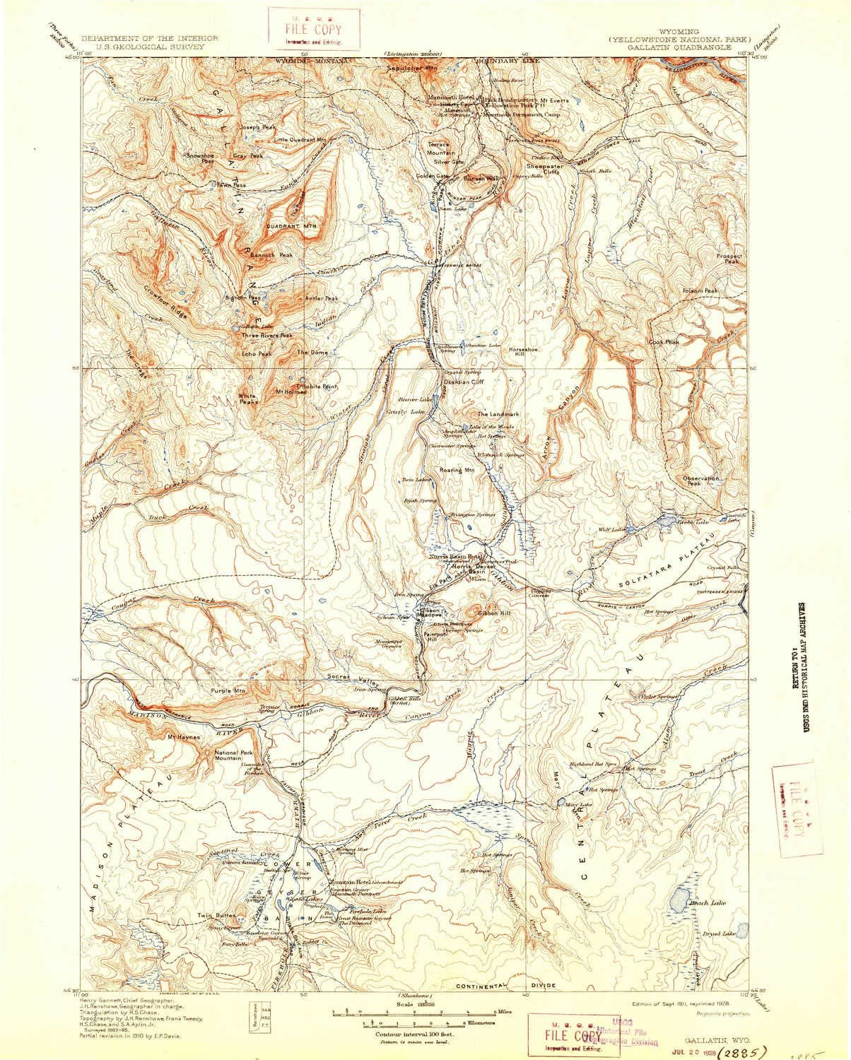 YellowMaps Gallatin WY topo Clearance SALE! Limited time! Factory outlet map 1:125000 Scale Minute X 30