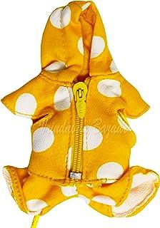 VRINDAVANBAZAAR.COM Yellow with Big Polka dots Laddu Gopal Dress for 0 to 4 laddu Gopal