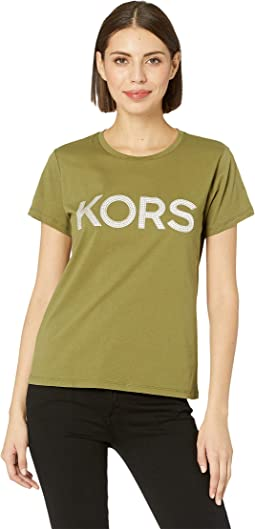 Kors Stud Short Sleeve T-Shirt