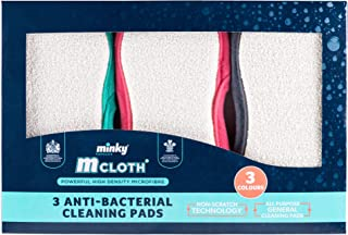 Minky Homecare M Cloth Cleaning Pad 3pk, Multicolored