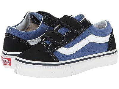 Vans Kids Old Skool V (Little Kid/Big Kid) Boys Shoes