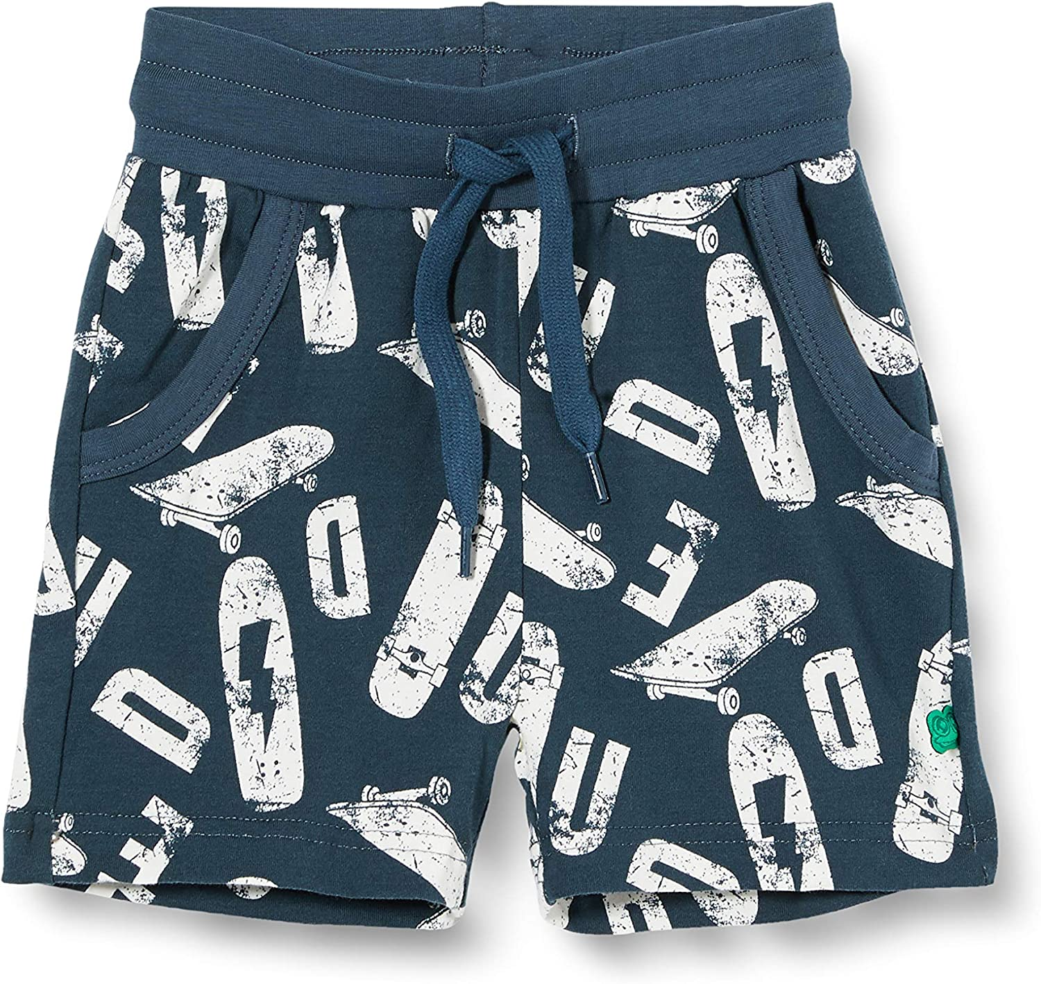 Freds World by Green Cotton Baby Boys Skate Shorts