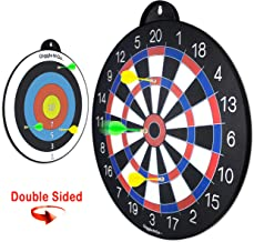GIGGLE N GO Reversible Magnetic Dart Board for Kids – Excellent Indoor Game, Will..