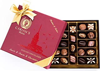 Sponsored Ad - Bistro Chocolate Box Luxury Selection - Gourmet Truffles - Natural and Healthy Snacks Pack for Adults & Kid...