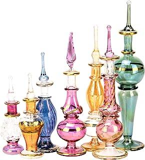 NileCart - Juego de 12 botellas de perfume egipcias de