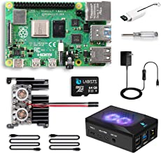 LABISTS Raspberry Pi 4 8GB RAM Starter Kit with 64GB Micro SD Card (8GB RAM)