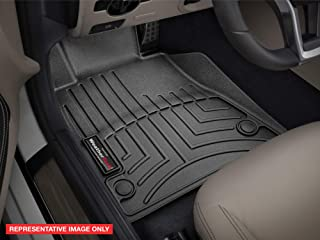 WeatherTech 440669 Custom Fit Rear FloorLiner for Select GMC/Chevrolet Models (Black)