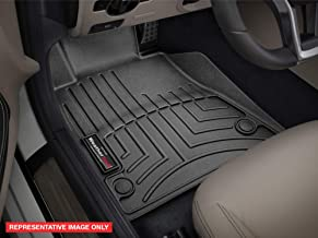 2015-2018 Ford F-150-Weathertech Floor Liners-Full Set 1st Row Bucket Seating (Includes 1st and 2nd Row)-Fits Supercrew Models Only-Black