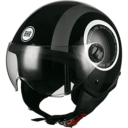 Bhr 29818 Motorrad Helm Demi Jet Line One 801 L 59 Cm Auto