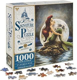 Disney Parks Exclusive Signature Ariel Little Mermaid 25th Anniversary 1000 Pc. Puzzle