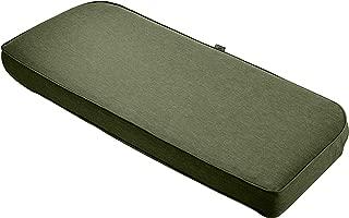 Classic Accessories Montlake Bench Cont. Cushion Foam & Slip Cover, Heather Fern, 41x18x3