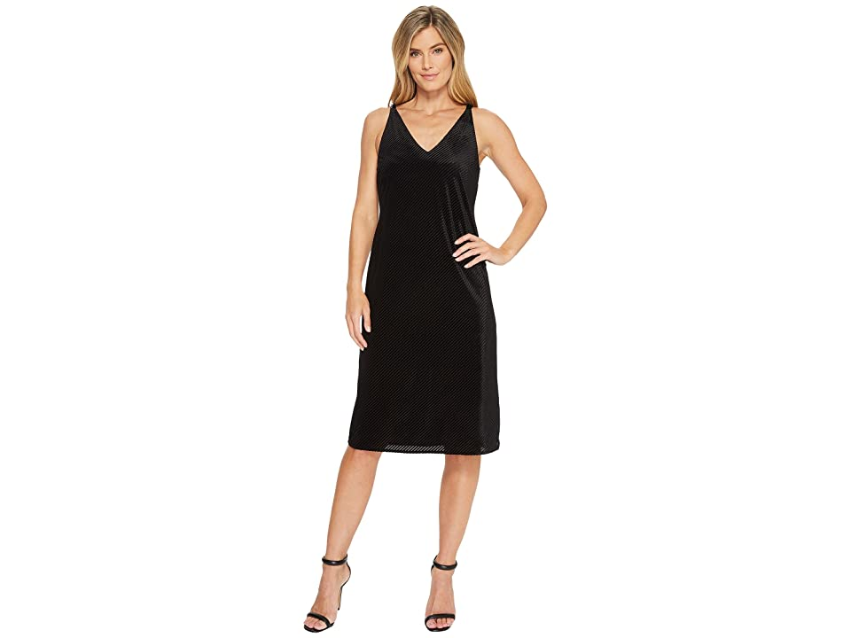 NIC+ZOE Stunning Dress (Black Onyx) Women