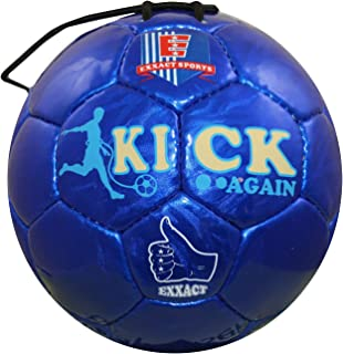 Exxact - Kick Again - Training Soccer Ball with Stretchable String for Solo/Team Training -Size 2, 3, 4 & 5 for Soccer Enthusiast