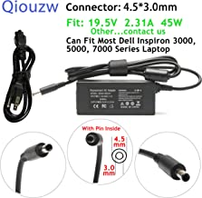 Lisen 19.5V 2.31A 45W AC Adapter Laptop Charger for Dell Inspiron 11 13 14 15 17 3000 5000 7000 Series:3552 3558 3452 5555 5558 5559 5565 5567 5568 5578 7579 3451 5368 7378 3168 Power Supply Cord