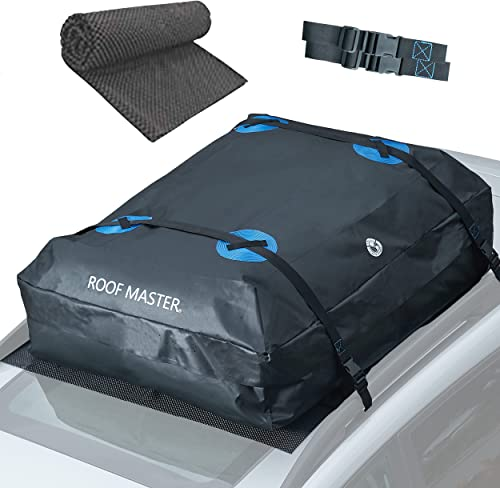 discount ROOFMASTER Rooftop Cargo Carrier for All Cars & Automobiles with or discount Without Roof Rack. Unique Waterproof Design - 16 Cu ft Roof outlet online sale Bag. Includes Roof Top Mat outlet online sale