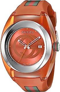 Analog Display Swiss Quartz Orange SYNC Watch(Model:XXL YA137108)