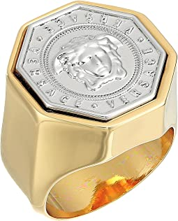 Versace - Octagonal Medallion Ring