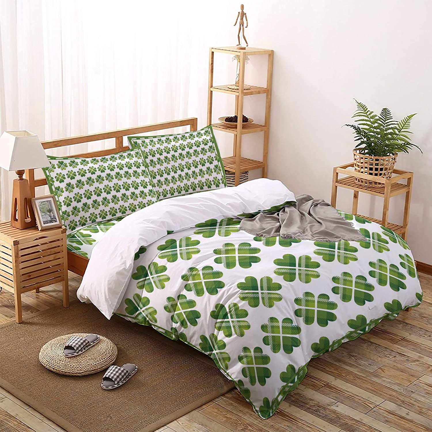4 Pieces Duvet Cover Factory outlet Bedding 1 Set- + It is very popular Sheet Flat