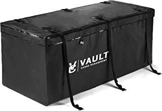 """Hitch Cargo Carrier Bag from Vault Cargo – 15 Cubic Feet - Heavy Duty Waterproof Cargo Hitch Carrier Bag Perfect for Camping, Luggage, and Outdoor Gear. Cargo Hitch Bag (59"""" x 24"""" x 24"""")"""