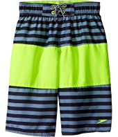 Speedo Kids - Bold Striped Blocked Volley Shorts (Little Kids/Big Kids)