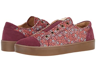 Spenco Malibu Floral (Port) Women
