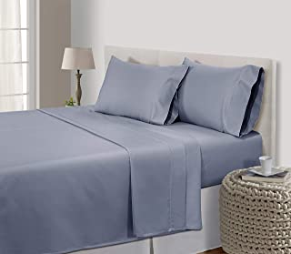 EGYPTIAN COTTON SHEETS KING,800 Thread Count sheets,100% Egyptian Cotton, bed set,King Size Sheets Egyptian Cotton,bed sheets,Deep Pocket King Sheets,Sateen Sheets,,King Sheet Set,Granite,Grey sheets