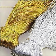 Jewelry rope 100m touw goud zilveren koord geschenkverpakking string kralen draad voor sieraden maken DIY Braid Armband Ta...