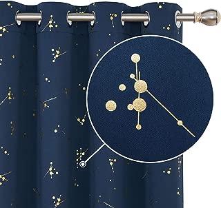 Best constellation blue curtains Reviews