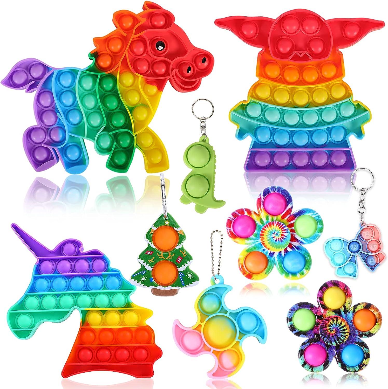 Navona Fidget Ranking TOP15 Toys Pack Toy Sensory Pop Bubble unisex