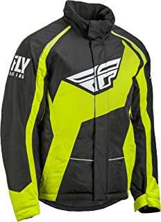 FLY RACING FLY OUTPOST JACKET BLK/HI-VIS 3X 470-40973X